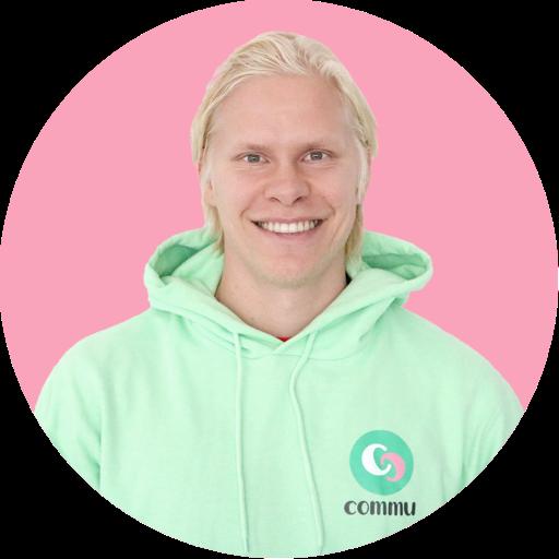 Sami Ekmark commuapp.fi