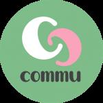 Commu logo, auttamisen tori commuapp.fi